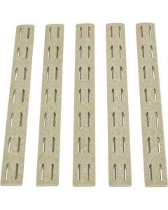 "Bcm Rail Panel Kit Keymod 5.5"" Fde 5 Pack"