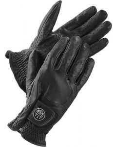 Beretta Leather Shooting Gloves Small Black W/Logo