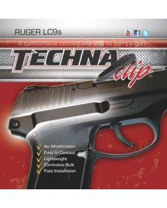 Techna Clip Handgun Retention Clip Ruger LC9S Right Side