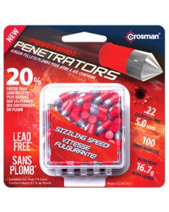 Crosman Pellets .22 Lead Free 16.7 Grain 100 Count