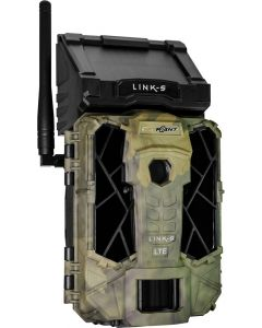 Spypoint Trail Cam Link Solar At&t 12mp Low Glow Camo