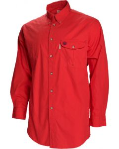 Beretta Shooting Shirt X-large Long Sleeve Cotton Red