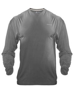 Medalist Performance Crew Ls Tactical Shield Charcoal Med