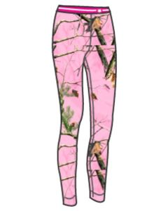 Medalist Womens Performance Pant Level-2 Pink Camo 2Xl