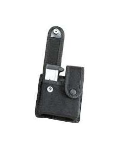 Uncle Mikes Double Magazine Pouch For Staggered Mags W/Snaps Blk