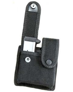 Uncle Mikes Double Magazine Pouch For Single Stack Mags W/Snaps