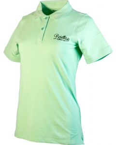 Beretta Women'S Corporate Patch Polo Small Water Green