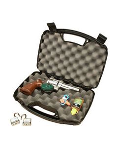 "MTM Case-Gard Single Handgun Case Up To 6"" Barrel Lockable"