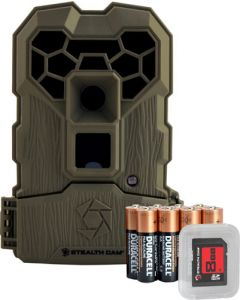 Stealth Cam Trail Cam Qs24Ngk Quick Scout 12Mp No-Glo Camo