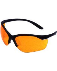 Howard Leight Vapor II Eyewear Black Frame Orange Lens