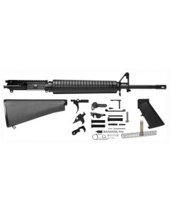 "Del-Ton Inc Rifle Kit 5.56x45 20"" Heavy Barrel Fixed Stock"