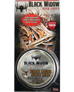 Black Widow Northern Scrape Master Scent Beads 2 Ounces