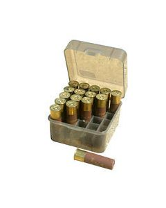 "MTM Case-Gard Ammo Box Shotshell 12/10GA 3.5"" Shells 25-Rounds"