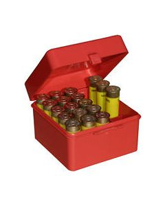 "MTM Case-Gard Ammo Box Shotshell To 3"" 12,16,& 20GA. 25-Rounds"