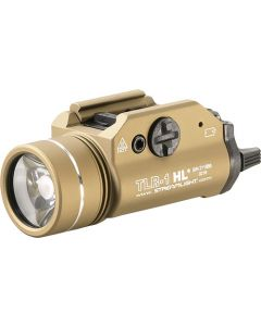 Streamlight Tlr-1 Hl C4 White Led Light W/rail Mount Fde