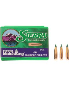 Sierra Bullets 6.5mm .264 107gr Hp-bt Match 100ct