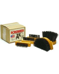 Peet Scrusher Replacement Brush Set For Deluxe/big Boot