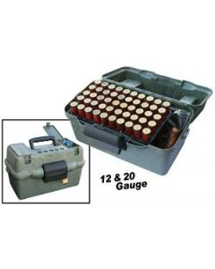 MTM Case-Gard Deluxe Shotshell Case/ Field Box 12/20GA. 50-Rounds