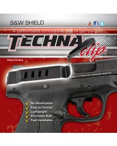 Techna Clip Handgun Retention Clip S&W Shield Auto Right