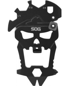 Sog Macv Tool Hardcased Black Keychain Tool W/12 Components