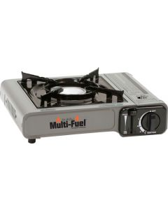 Can Cooker Multi Fuel Burner W/ Carry Case, Hose, Regulator