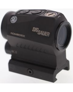 SIG Optics Red Dot Romeo 5x 2 Moa Dot 1x20 Aaa Battery Blk