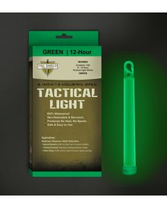 "Tac Shield Tactical 12 Hour Light Stick 6"" Green 10Pk"