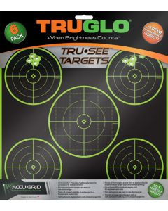 Truglo Tru-see Reactive Target 5 Bull 6-pack