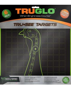 Truglo Tru-see Reactive Target Turkey 6-pack