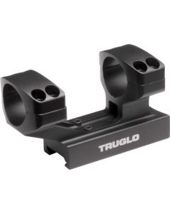 "Truglo 1-piece Picatinny Riser Scope Mount 1""height 1"" Rings"