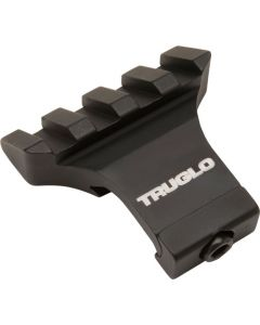 Truglo 1-piece Picatinny Riser Mount 45 Degree Offset Mount