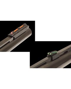 """Truglo Sight Set Gobble-Dot Snap On For 1/4"""" Rib Red/Green"""