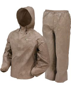 Frogg Toggs Rain Suit Mens Ultra-lite-2 Medium Khaki