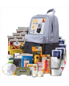 Wise Food Supply 5 Day Survival Solar Pack Solar Power Boost Backpack/Kit