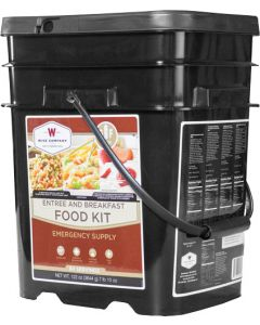 Wise Breakfast & Entree Kit Gf 84 Serving Bucket Gluten Free