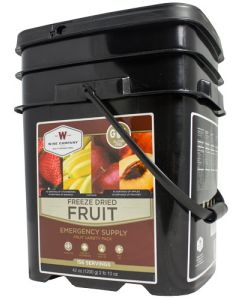 Wise Freeze Dried Fruit Gf 156 Serving Bucket Gluten Free