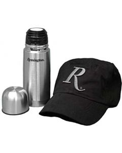 Remington Black Ball Cap And Thermos Combo Set Boxed