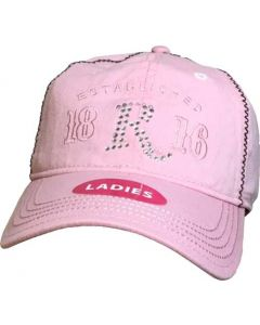 Remington Ladies Logo Pink Ball Cap Low Profile