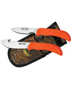 Outdoor Edge Wild Pair Skinner /Caper With Mossy Oak Sheath