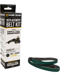 Work Sharp Wskts Coarse P80 Grit Belt Bulk Pack (6 Belts)