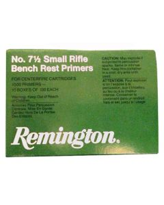 Remington Primers- Small Rifle 5000-Pk (5Ea.-1000)