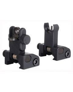Yankee Hill Machine Qds Sight Set Hooded Front And Rear Quick Deploy