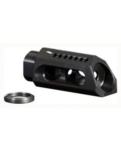 Yankee Hill Machine Slant Muzzle Brake/Comp 6.8/7.62/9MM 1/2x36 Threads