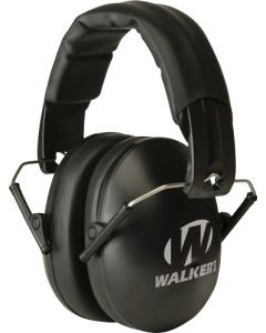 Walker Game Ear Folding Muffs Youth/women Passive 17db Black
