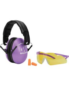 Walker Game Ear Youth/women Muff/glasses/plug Combo Purple