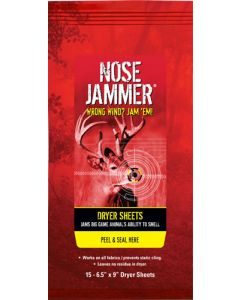 """Nose Jammer Gear And Rear Wipes 20 7""""x6"""" Wipes"""