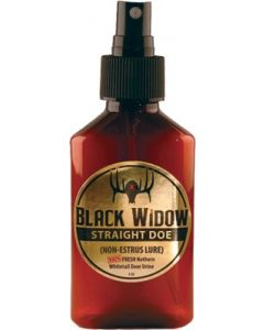Black Widow Deer Lures Northern Strait Doe Urine 3 Oz