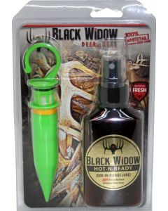 Black Widow Northern Hot-N-Rdy 3 Oz. Combo W/1 Scent Stick