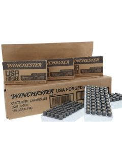 Winchester Ammunition Ammo USA 9mm Cs Lot 115gr. Steel Case Fmj-rn-500rds