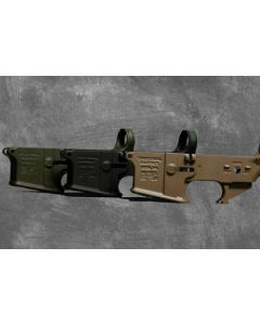 Tactical Supply TS15 Stripped Lower Flat Dark Earth